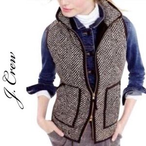J. Crew Down Quilted Puffer Vest